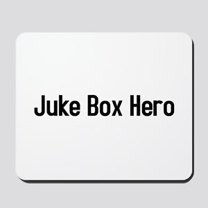 juke box hero Mousepad