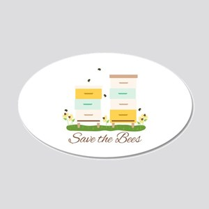 Save The Bees Wall Decal