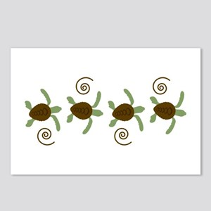 Sea Turtle Border Postcards (Package of 8)