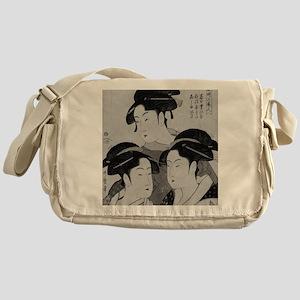 Vintage Japanese Women Messenger Bag