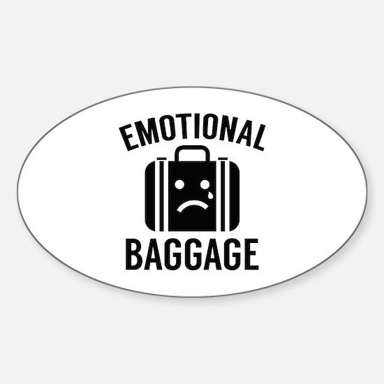 Emotional Baggage Sticker (Oval)