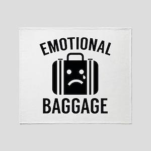 Emotional Baggage Stadium Blanket