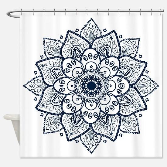 Cute Ornate Shower Curtain