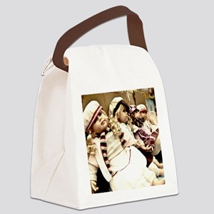 Waiting dolls Canvas Lunch Bag