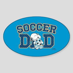 Snoopy - Soccer Dad Full Bleed Sticker