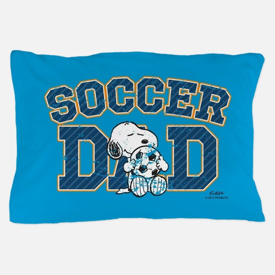 Snoopy - Soccer Dad Full Bleed Pillow Case