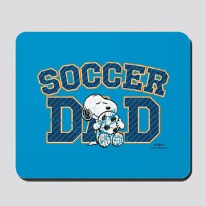 Snoopy - Soccer Dad Full Bleed Mousepad