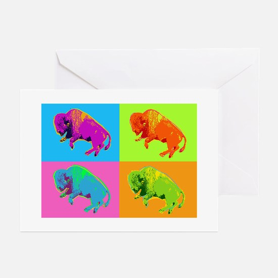 Warhol Buffalo Greeting Cards
