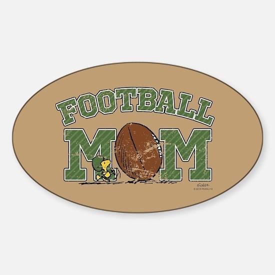 Peanuts Football Mom Full Bleed Decal
