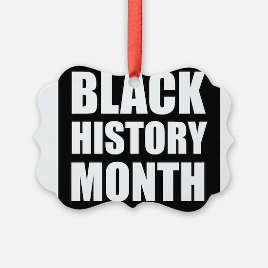 Black History Month Ornament