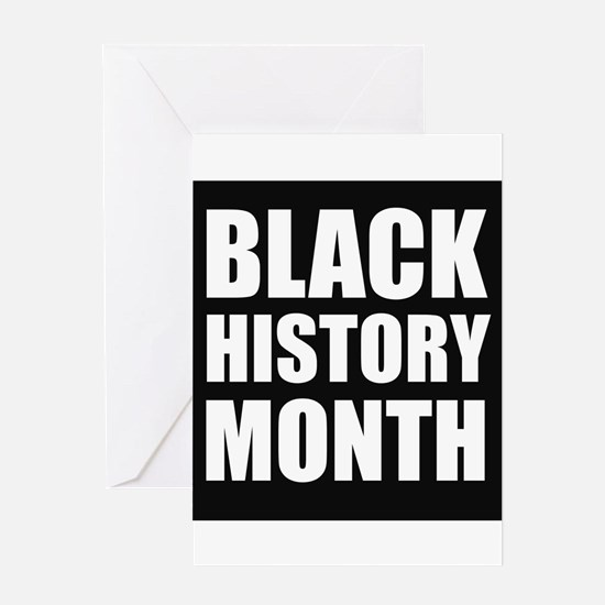 Black History Month Greeting Cards