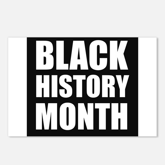Black History Month Postcards (Package of 8)