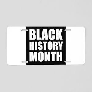 Black History Month Aluminum License Plate