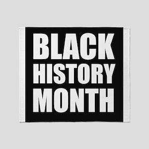 Black History Month Throw Blanket