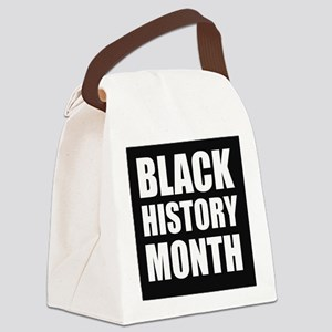 Black History Month Canvas Lunch Bag