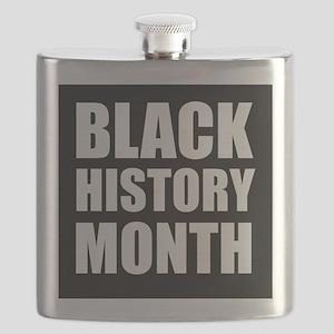 Black History Month Flask
