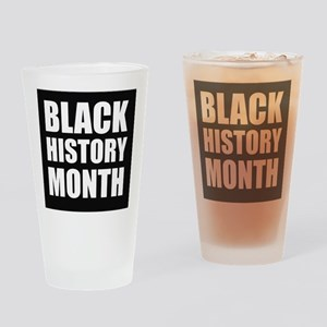 Black History Month Drinking Glass
