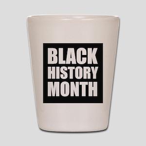 Black History Month Shot Glass