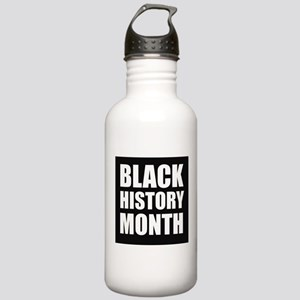 Black History Month Water Bottle