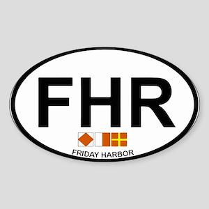 Friday Harbor Sticker