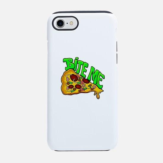 Bite me pizza iPhone 8/7 Tough Case