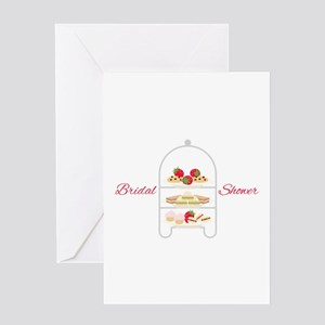 Bridal Shower Snacks Greeting Cards