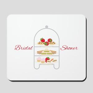 Bridal Shower Snacks Mousepad