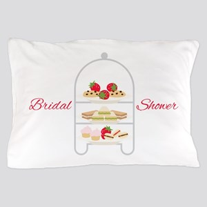 Bridal Shower Snacks Pillow Case