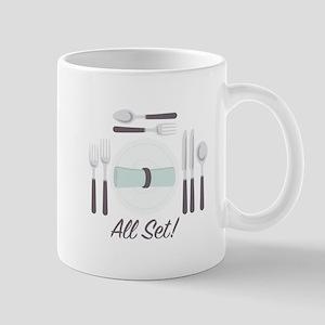 All Set Utensils Mugs