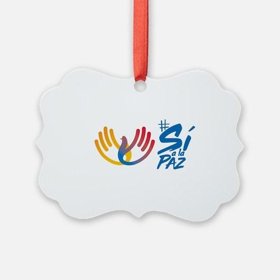 Si a la paz Colombia Ornament