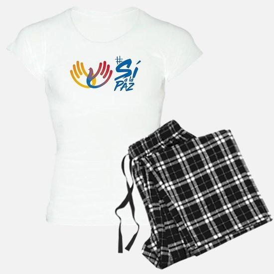 Si a la paz Colombia Pajamas