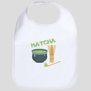 Matcha Tea Set Bib