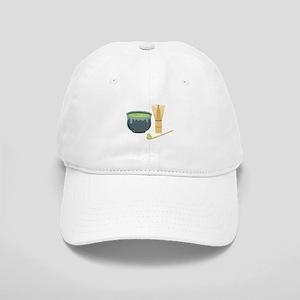 Matcha Green Tea Set Baseball Cap
