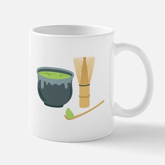 Matcha Green Tea Set Mugs