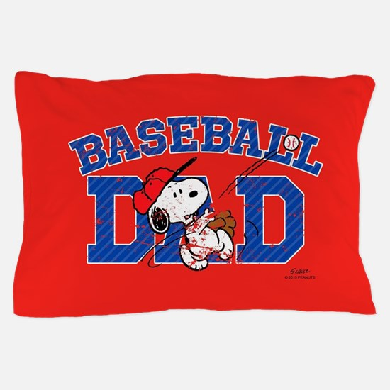 Snoopy - Baseball Dad Full Bleed Pillow Case