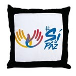 Si a la Paz en Colombia Throw Pillow