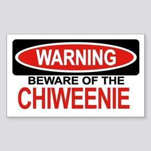 CHIWEENIE Rectangle Sticker