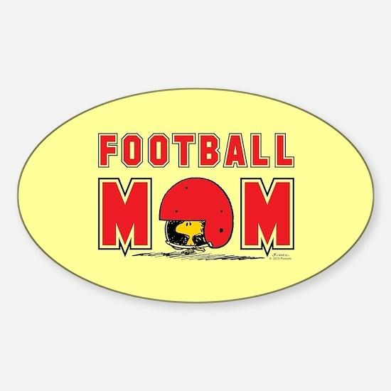 Woodstock Football Mom Full Bleed Decal