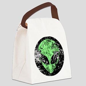 Alien #2 Canvas Lunch Bag