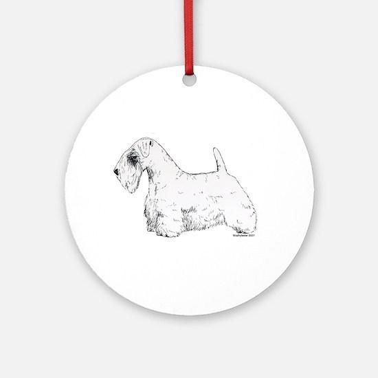 Sealyham Terrier Ornament (Round)
