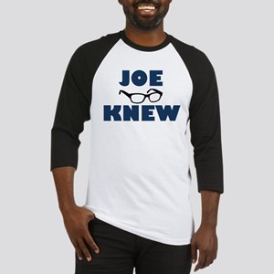 Joe Knew Baseball Jersey
