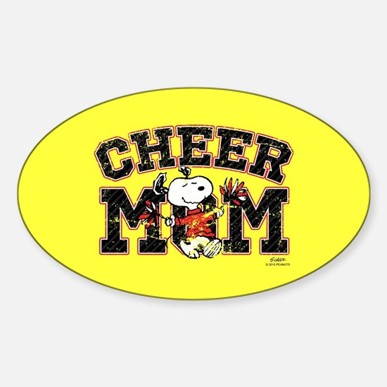 Snoopy - Cheer Mom Full Bleed Decal