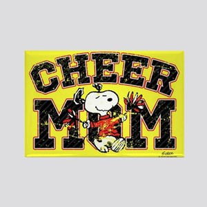 Snoopy - Cheer Mom Full Bleed Magnets