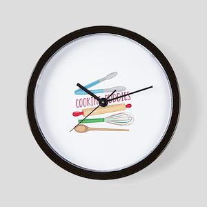 Cooking Buddies Wall Clock