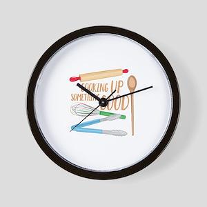 Something Good Wall Clock
