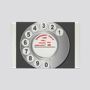 Old Style Telephone Dial Magnets