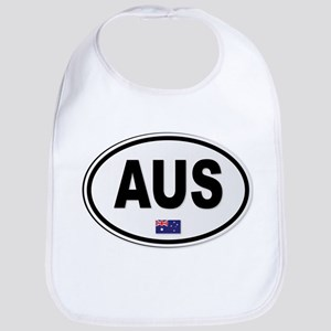 Australia AUS Plate Bib