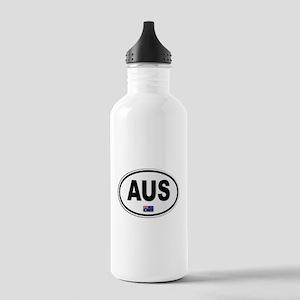 Australia AUS Plate Stainless Water Bottle 1.0L