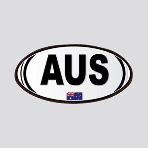 Australia AUS Plate Patch