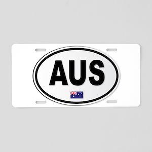 Australia AUS Plate Aluminum License Plate